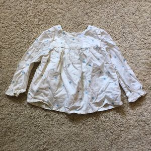 Baby Gap stars blouse, size 18-24 months